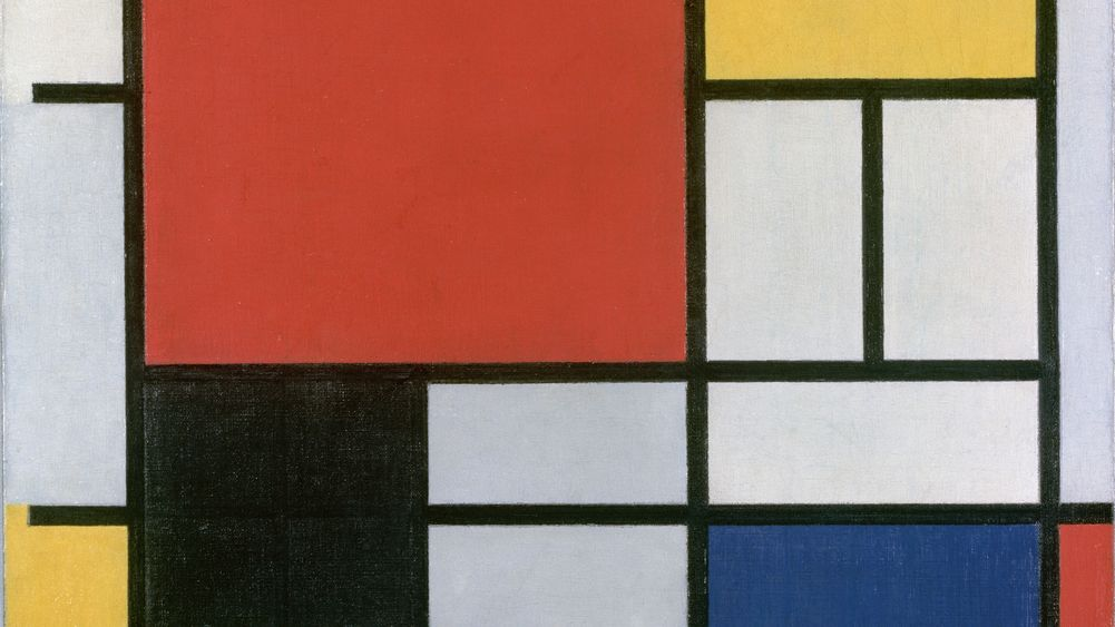 Composition in Red, Yellow, Blue and Black