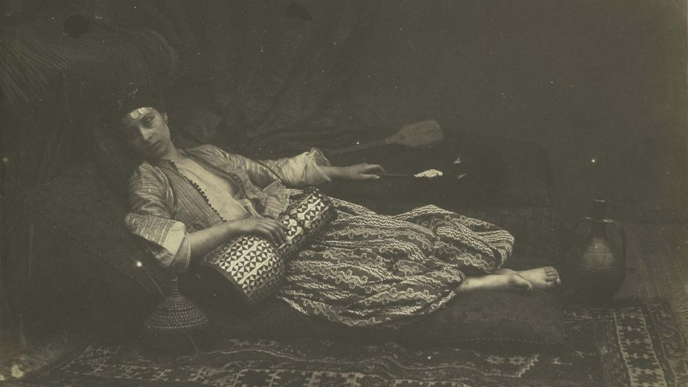 """Reclining Odalisque"" by Roger Fenton"