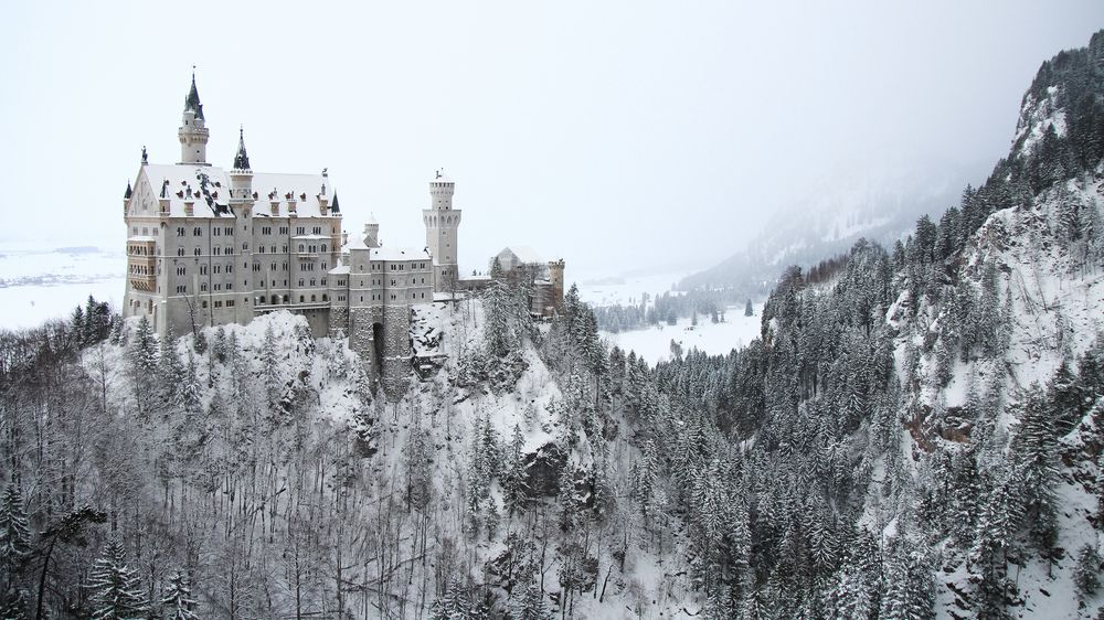 Neuschwanstein in Winter