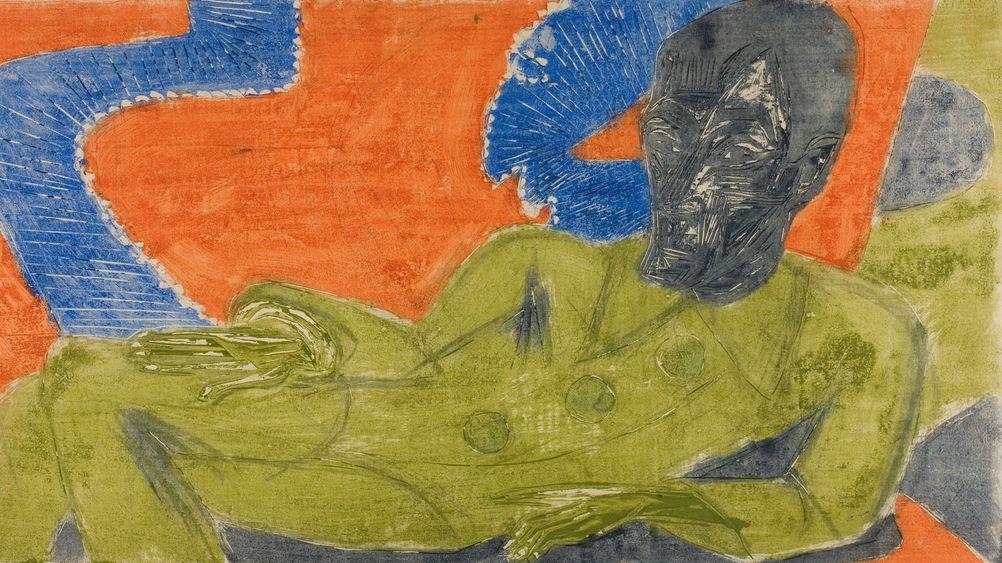 Portrait of Otto Mueller