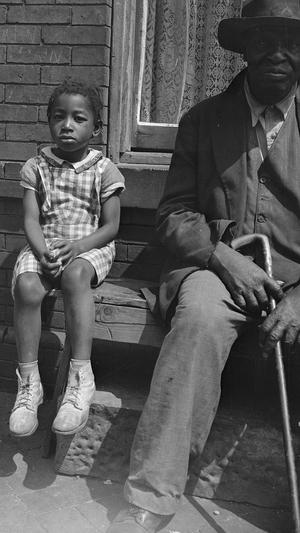 Grandfather and Grandchild who Live on Seaton Road