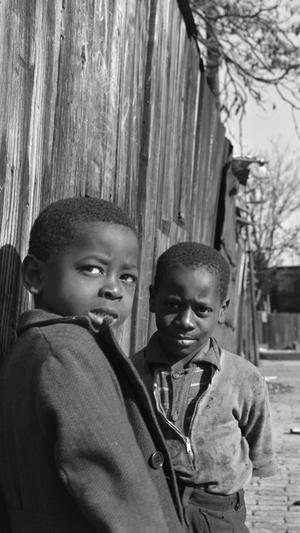 Two Negro Boys