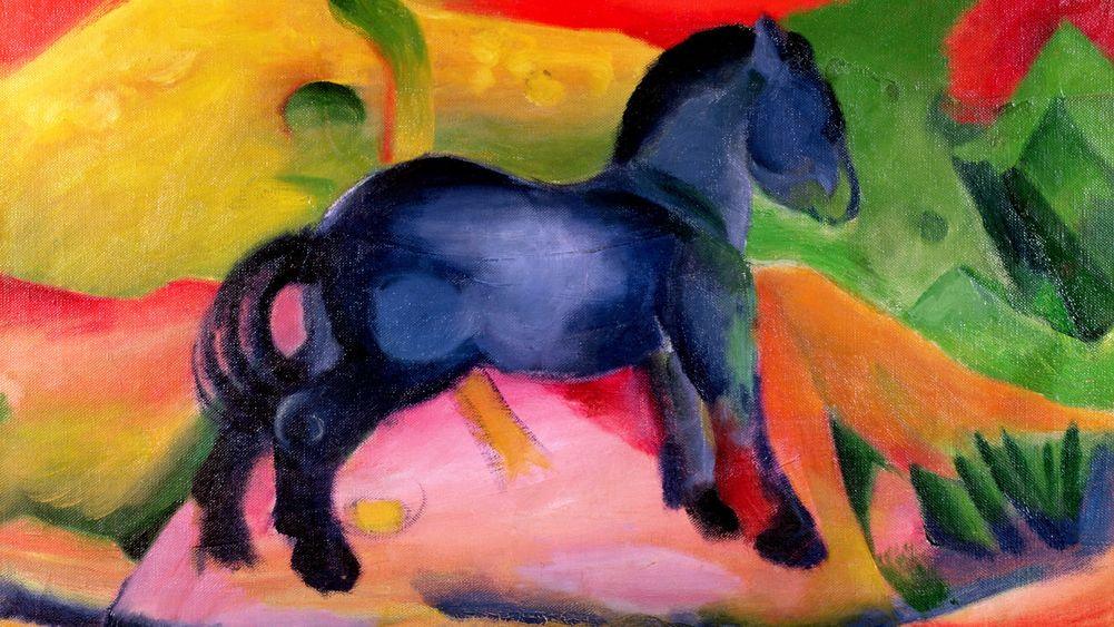 Little Blue Horse