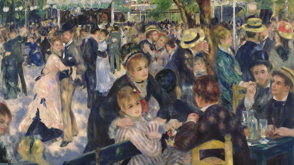 Dance at the Moulin de la Galette