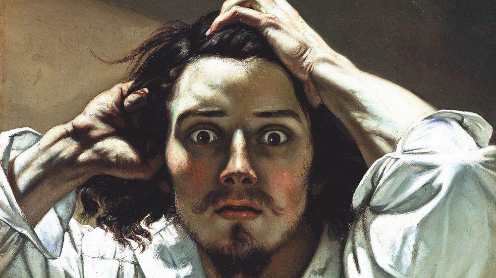 The Desperate Man (Self-portrait)