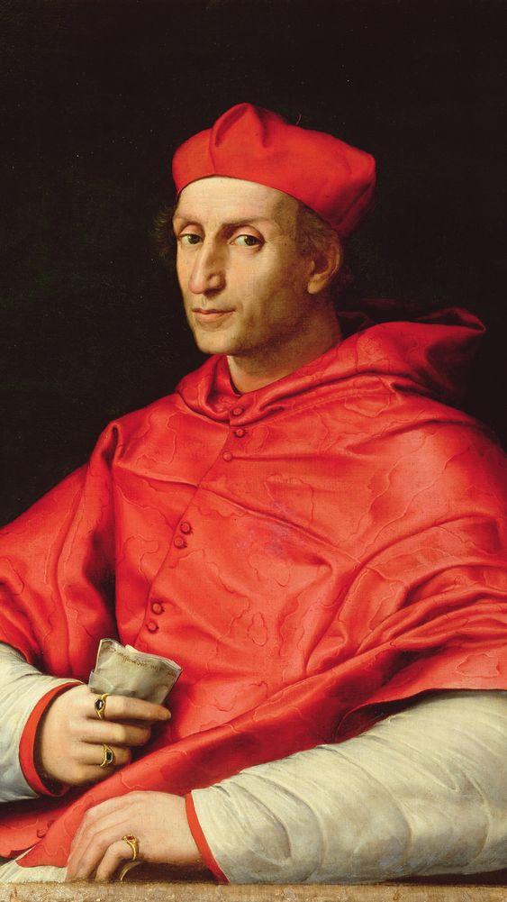 Portrait of Cardinal Dovizzi de Bibbiena