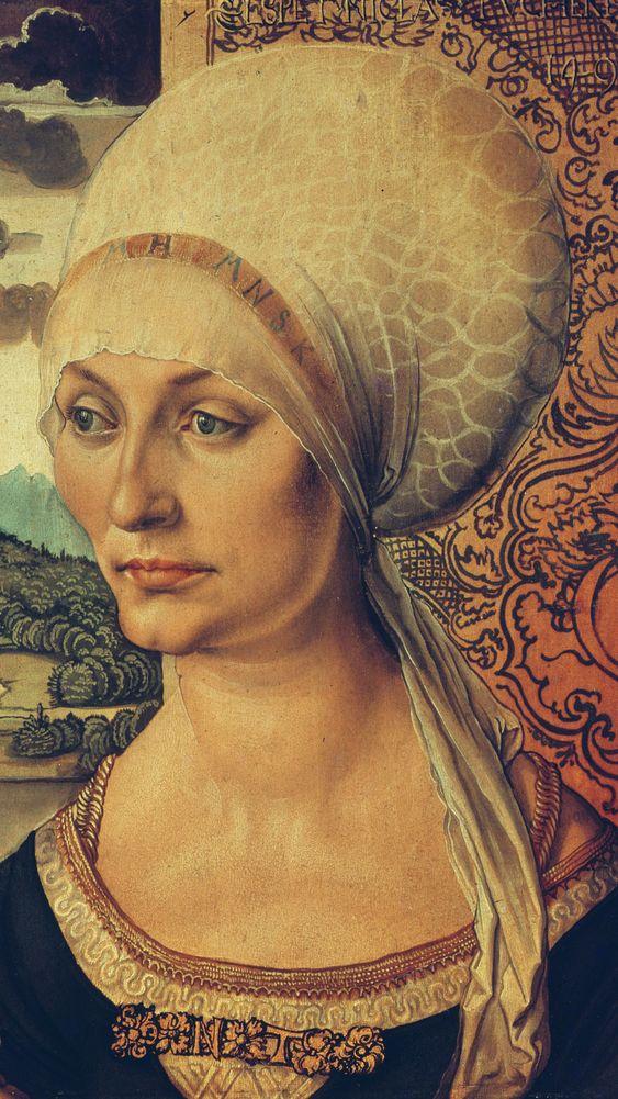 Portrait of Elisabeth Tucher