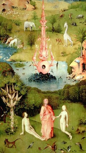 The Garden of Earthly Delights: The Garden of Eden