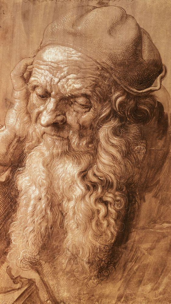 Portrait of a Man Aged Ninety-Three