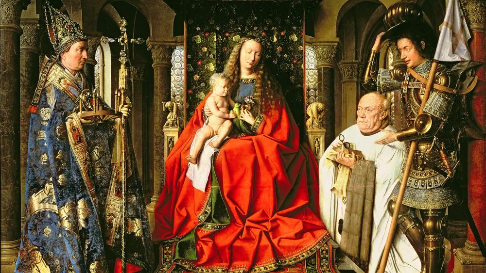 Madonna and Child with Canon Joris van der Paele