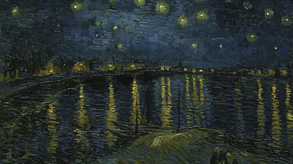 Starry Night Over the Rhone | Explore Meural's Permanent Art Collection | Digital Work