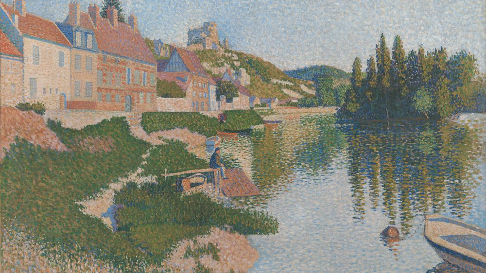 The River Bank, Petit-Andely