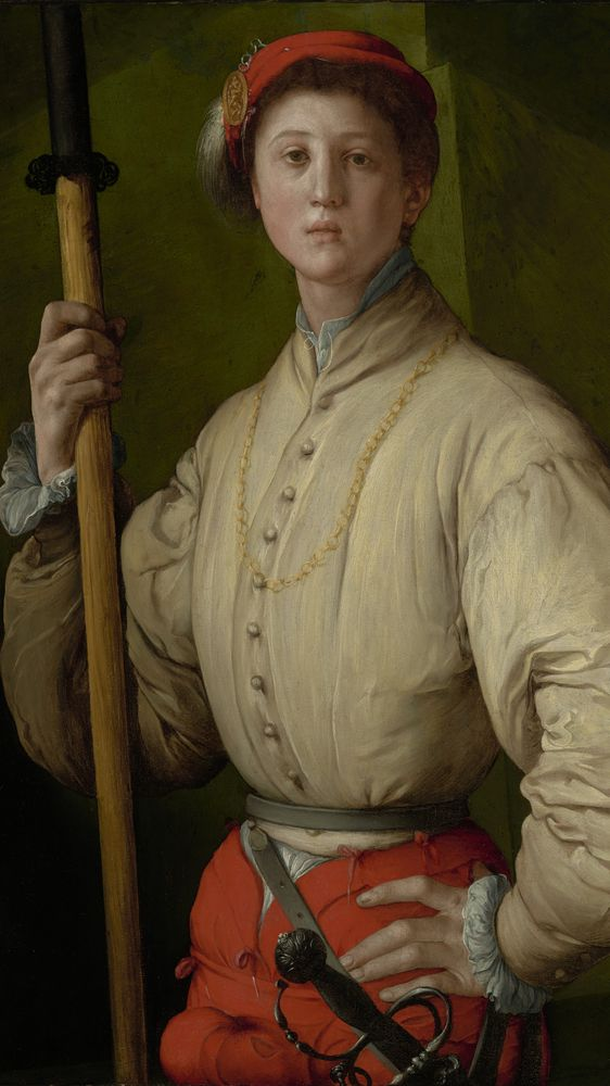 Portrait of a Halberdier