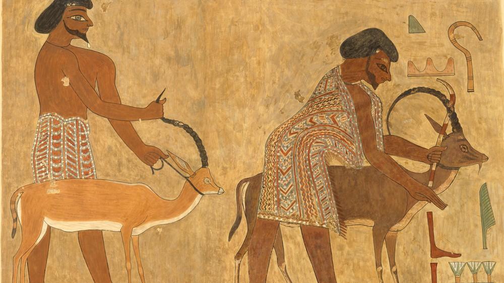 Leaders of the Aamu of Shu (facsimile)