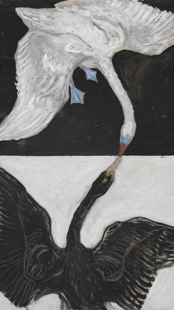Group IX/SUW, No. 1. The Swan, No. 1