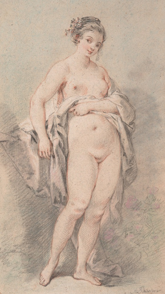 nude on sofa Boucher