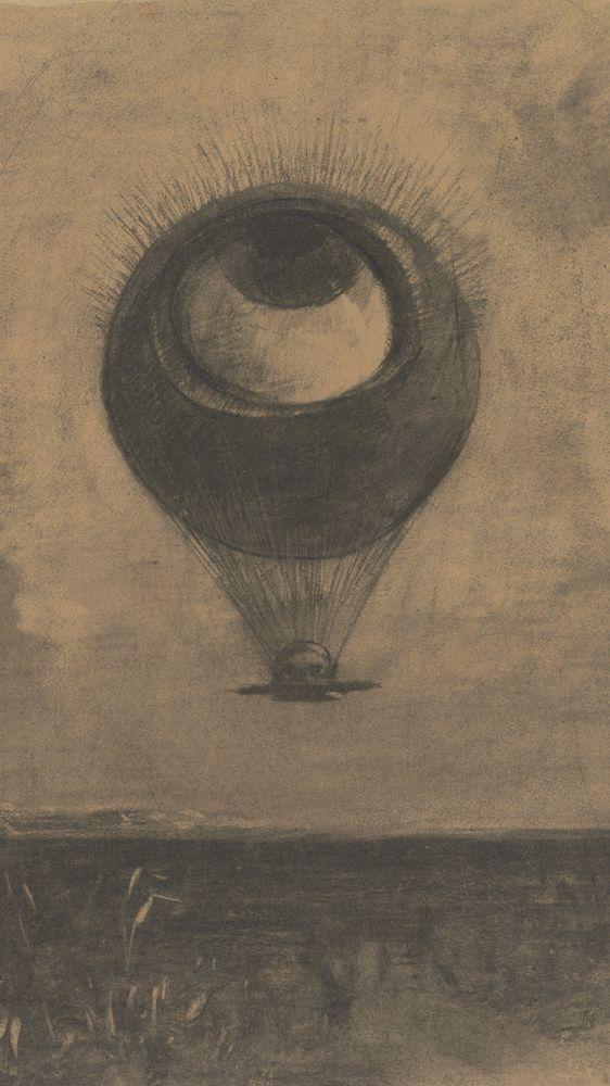 The Eye, Like a Strange Balloon Moves Towards Infinity