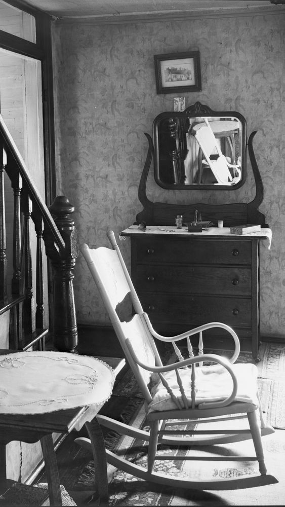 Interior of Unemployed Man's House