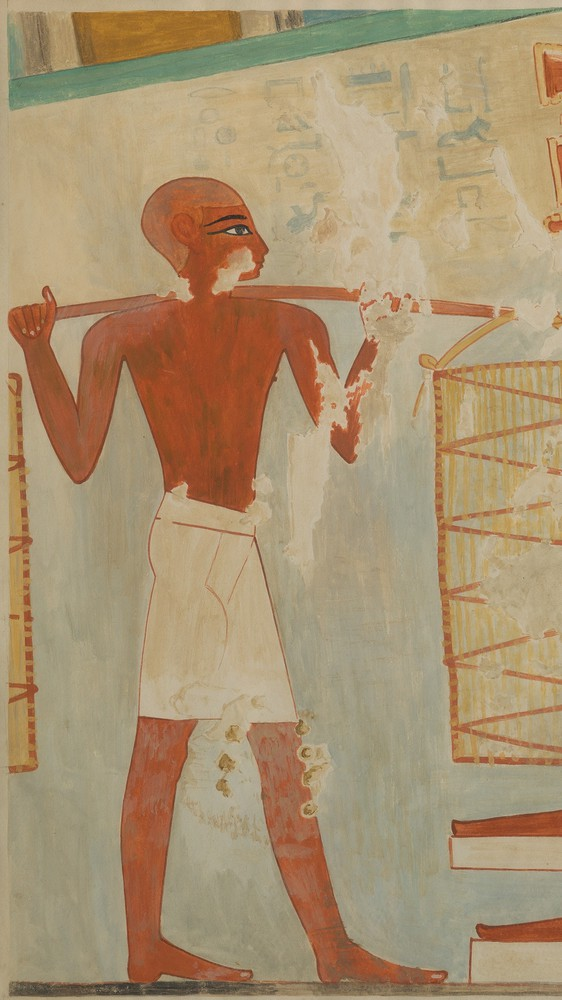 Man Carrying Loaves, Tomb of Rekhmire (facsimile)