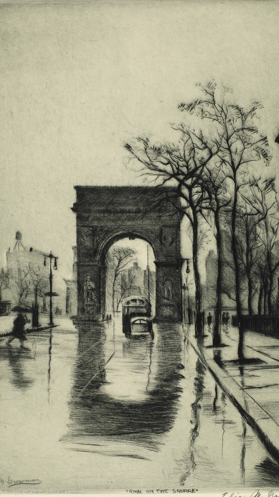 Rain on the Square