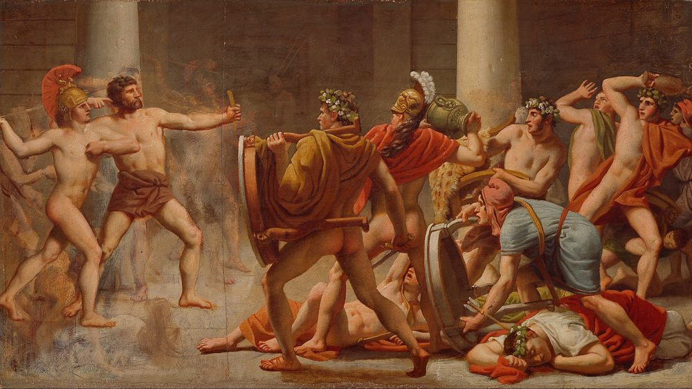 Ulysses' Revenge on Penelope's Suitors