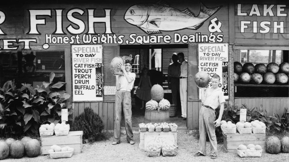 Roadside Stand Near Birmingham, Alabama
